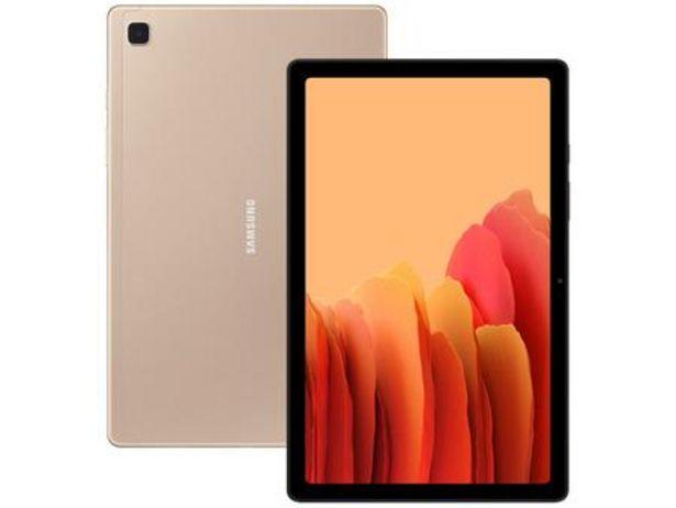 """Oferta de Tablet Samsung Galaxy Tab A7 10,4"""" 4G Wi-Fi 64GB por R$1579,9"""