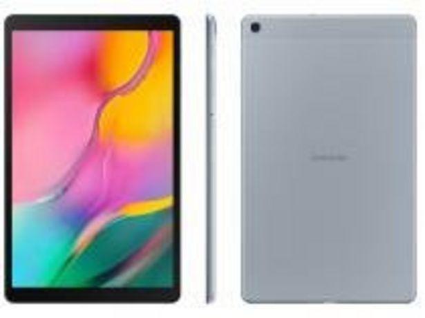 """Oferta de Tablet Samsung Galaxy Tab A 32GB  10,1"""" 4G e Wi-Fi por R$1547,91"""