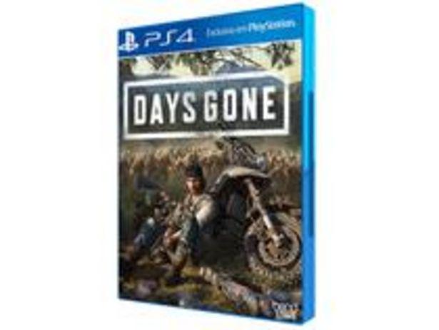 Oferta de Days Gone para PS4 por R$99