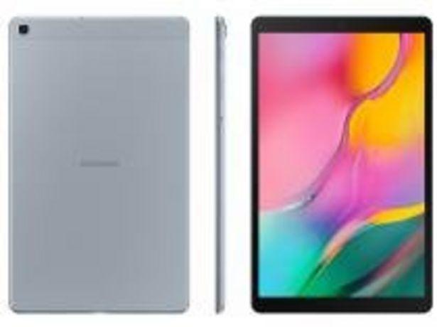 """Oferta de Tablet Samsung Galaxy Tab A 32GB 10,1"""" Wi-Fi por R$1367,91"""