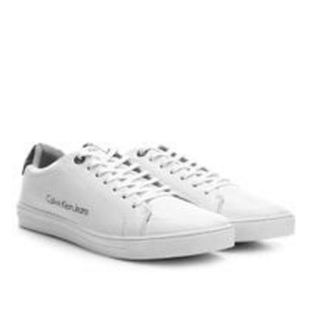 Oferta de Tênis Couro Calvin Klein Masculino por R$289,99