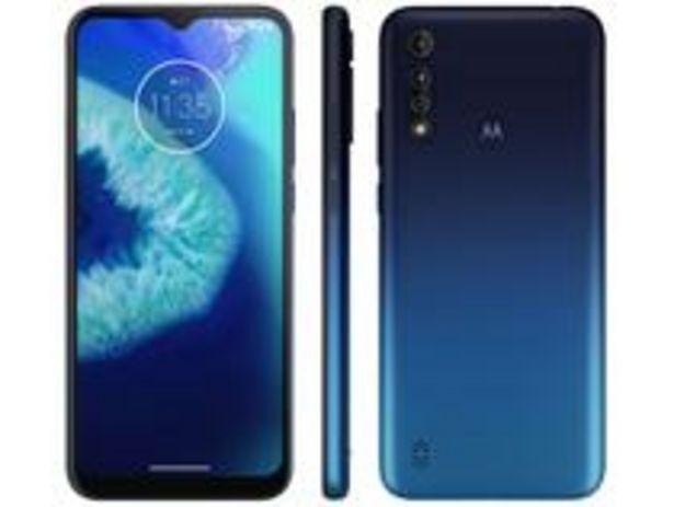 Oferta de Smartphone Motorola Moto G8 Power Lite 64GB Azul por R$1161,57