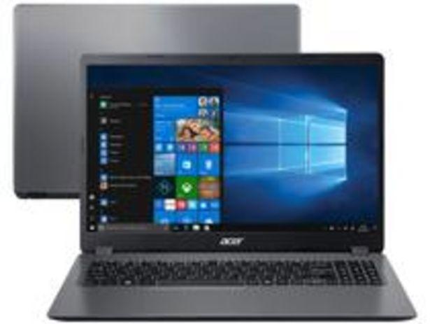 Oferta de Notebook Acer Aspire 3 A315-56-3090 Intel Core i3 por R$3229,05