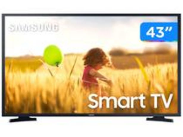 "Oferta de Smart TV Full HD LED 43"" Samsung 43T5300A por R$1799"