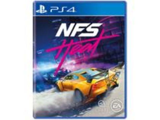Oferta de Need for Speed Heat para PS4 por R$170,91