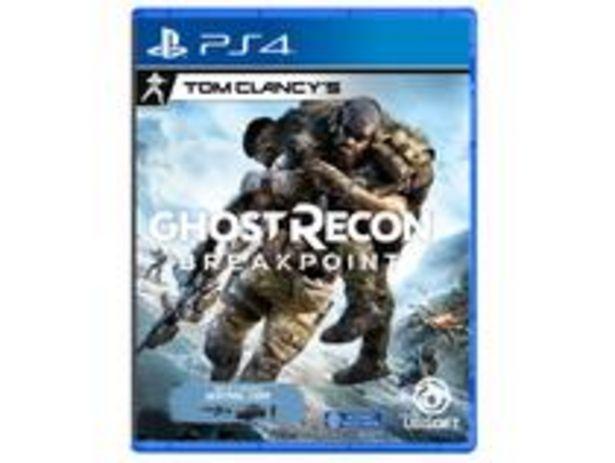 Oferta de Ghost Recon: Breakpoint para PS4 por R$79