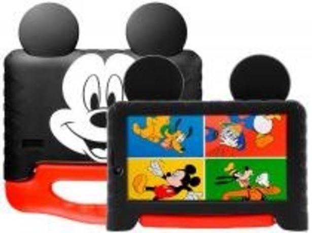 Oferta de Tablet Infantil Multilaser Mickey Plus com Capa por R$404,91