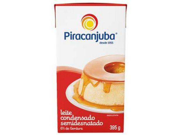 Oferta de Leite Condensado Semidesnatado Piracanjuba 395g por R$3,59