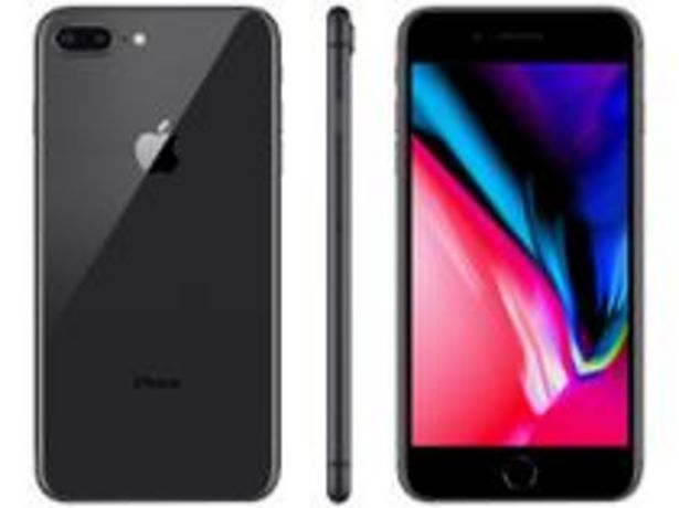 Oferta de IPhone 8 Plus Apple 128GB Cinza Espacial 4G por R$3499