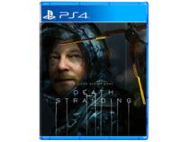 Oferta de Death Stranding para PS4 por R$58,9
