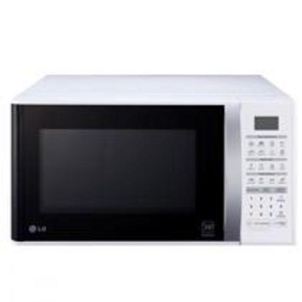 Oferta de Microondas LG Easy Clean 30 L Branco 220V  MS3052RA por R$512,1