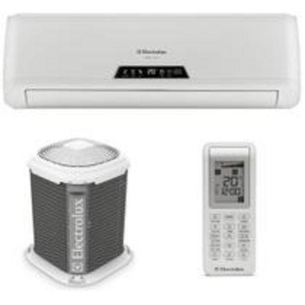 Oferta de Ar Condicionado Split Hi Wall Electrolux Ecoturbo 9000 BTUs Frio R410 por R$1259,1