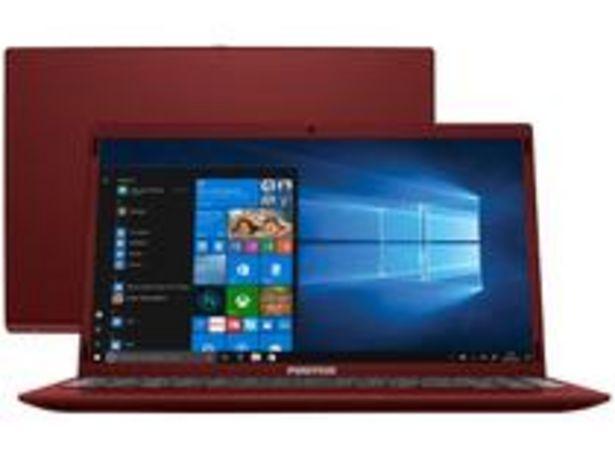 Oferta de Notebook Positivo Motion Red Q464C Intel Atom por R$1661,55