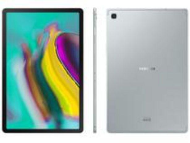 "Oferta de Tablet Samsung Galaxy Tab S5e T725 64GB 10,5"" 4G por R$2659,05"