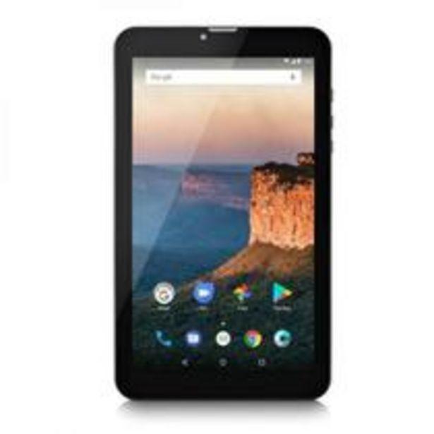 Oferta de Tablet Multilaser M9 3G 1Gb 8Gb 9 Pol. Quad Core Dual chip Preto Nb247 por R$459