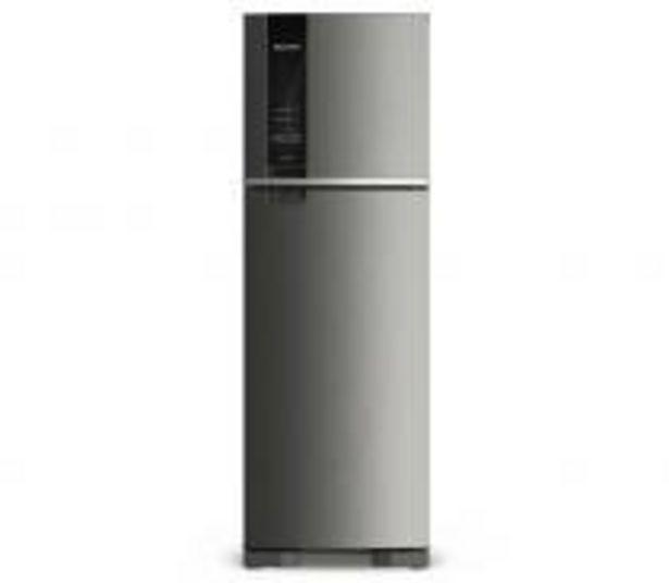 Oferta de Geladeira Brastemp Frost Free Duplex 400 litros cor Inox com Freeze Control por R$2782,55