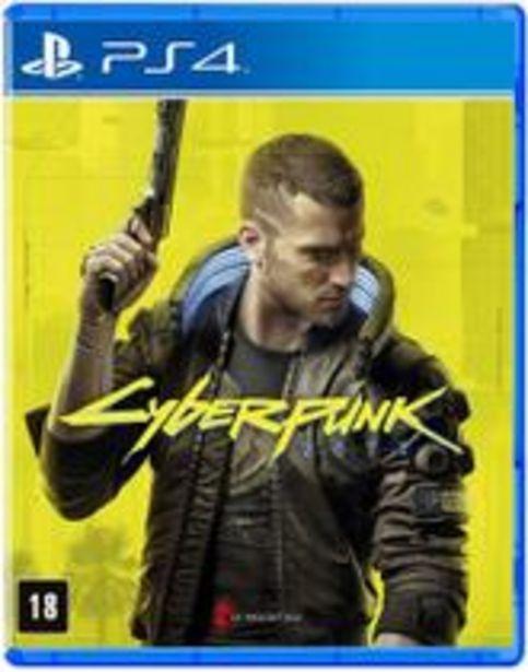 Oferta de Jogo Cyberpunk 2077 por R$59,99