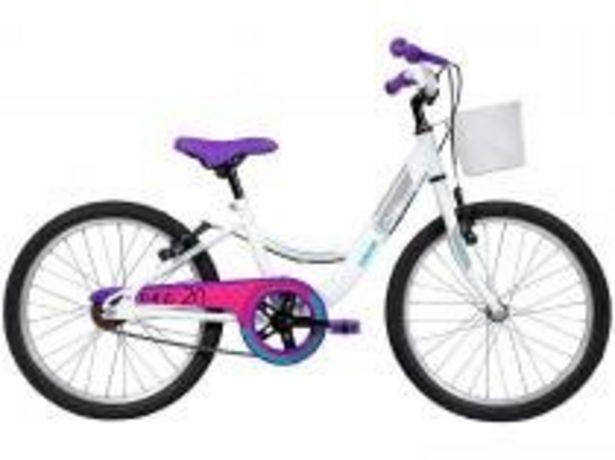 Oferta de Bicicleta Infantil Aro 20 Caloi Ceci Branco por R$598,41