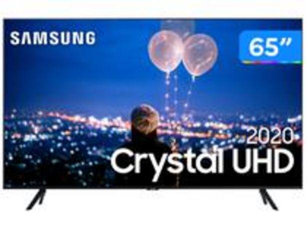 "Oferta de Smart TV Crystal UHD 4K LED 65"" Samsung por R$4199"