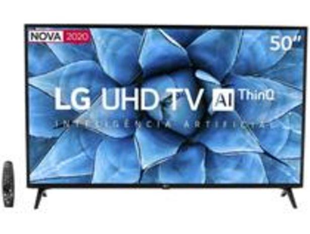 "Oferta de Smart TV UHD 4K LED 50"" LG 50UN7310PSC Wi-Fi por R$2799"