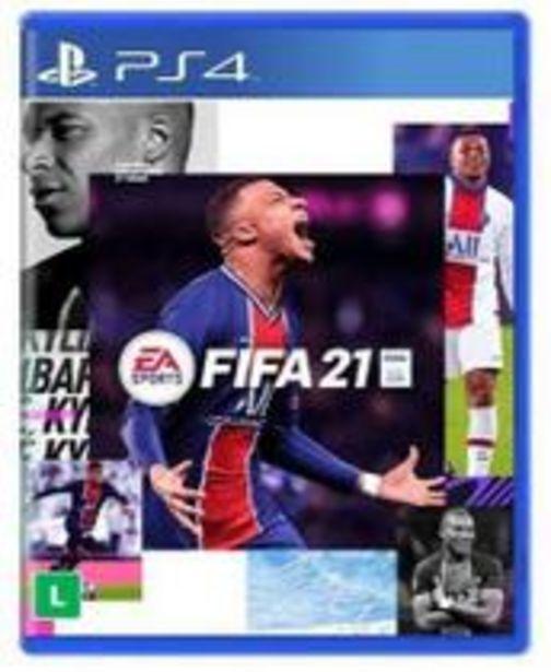 Oferta de FIFA 21 Para PS4 por R$349,99