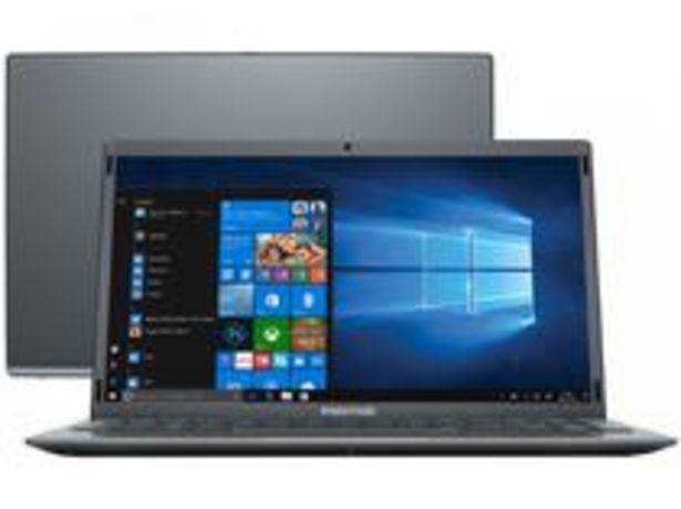 Oferta de Notebook Positivo Motion Gray Q4128C-S Intel Atom por R$1756,55