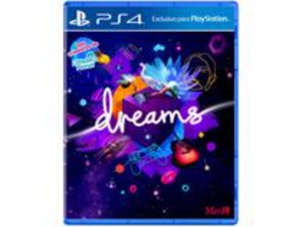 Oferta de Dreams para PS4 Media Molecule por R$98,9