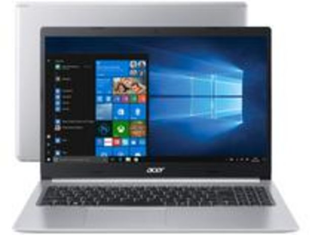 Oferta de Notebook Acer Aspire 5 A515-54-587L Intel Core i5 por R$3609,05
