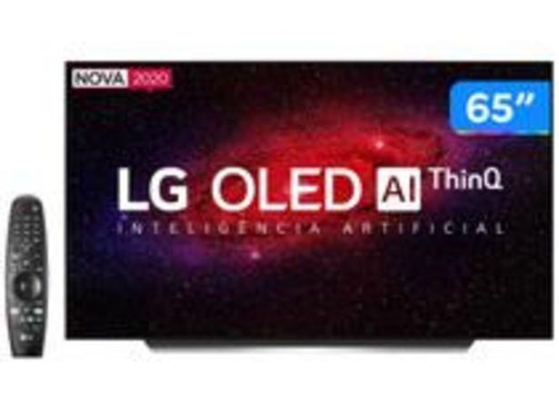 "Oferta de Smart TV 4K OLED IPS 65"" LG OLED65CXPSA por R$10259,05"