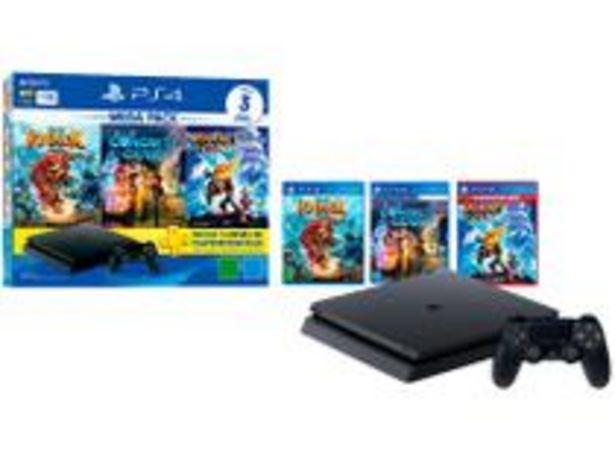 Oferta de PlayStation 4 Mega Pack V15 Family 1TB 1 Controle por R$2469,05