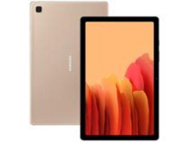 """Oferta de Tablet Samsung Galaxy Tab A7 10,4"""" 4G Wi-Fi 64GB por R$1394,1"""