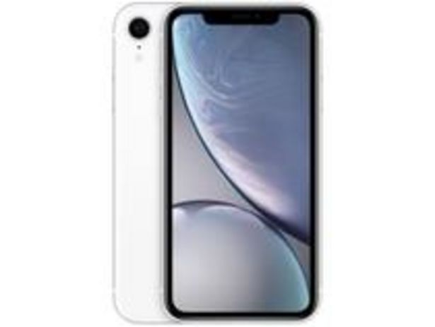 "Oferta de IPhone XR Apple 64GB Branco 6,1"" 12MP por R$3399"