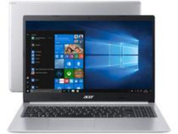 Oferta de Notebook Acer Aspire 5 A515-54-587L Intel Core i5 por R$3561,55