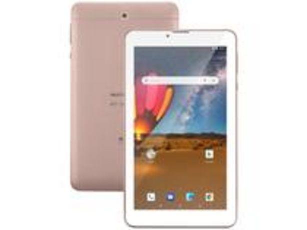 "Oferta de Tablet Multilaser M7 3G Plus NB305 16GB 7"" por R$474,9"