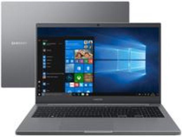 Oferta de Notebook Samsung Book NP550XDA-KF2BR Intel Core i5 por R$3989,05