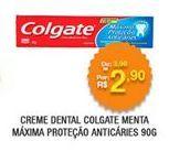 Oferta de Creme dental Colgate por