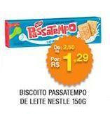 Oferta de Biscoitos Passatempo por