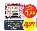 Oferta de Sabonete Lux por R$1,25