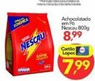 Oferta de Chocolate em pó Nescau por