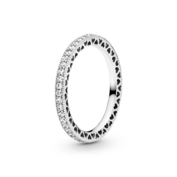 Oferta de Anel Corações De Pandora por R$389,5