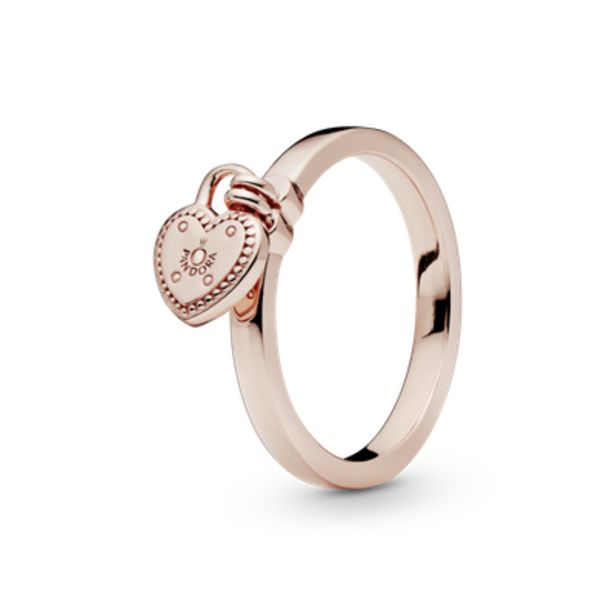 Oferta de Anel Pandora Rose Promessas De Amor por R$377,4