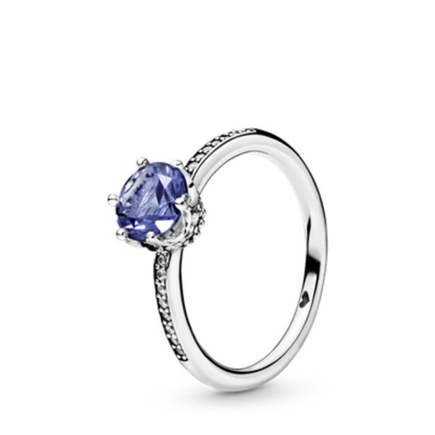 Oferta de Anel Solitário Real Azul por R$437,4