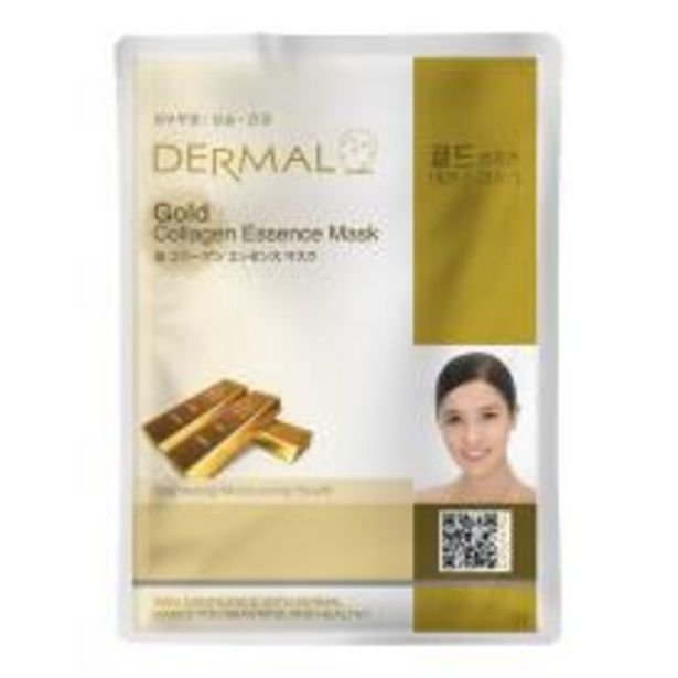 Oferta de Máscara Facial Gold por R$32