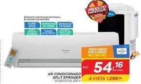 Oferta de Ar condicionado split Springer1 por