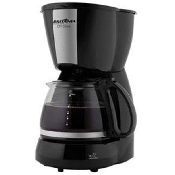 Oferta de Cafeteira Elétrica Britânia CP15 - Preto por R$69,9