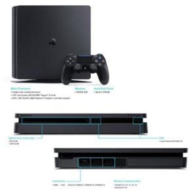 Oferta de Console PlayStation 4 Slim 500GB - Preto - Bivolt por R$1699