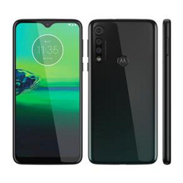 Oferta de Smartphone Motorola Moto G8 Play Preto Onix 32GB por R$1156,84