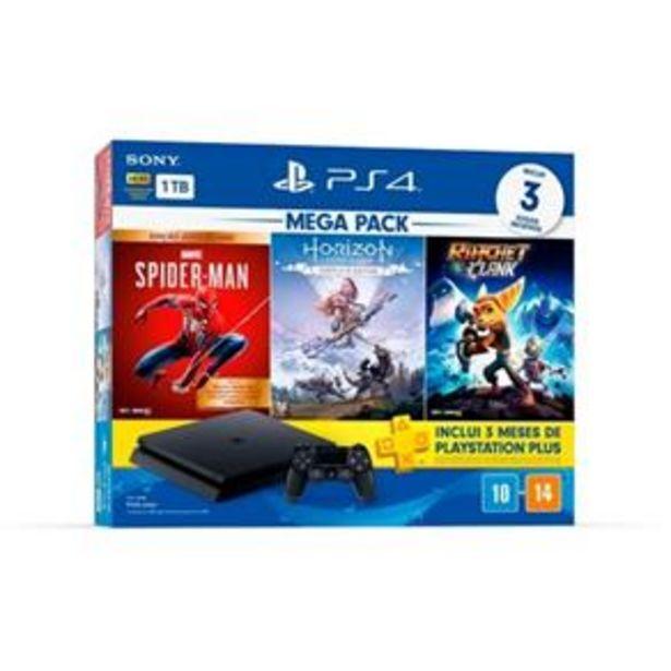Oferta de Console Playstation 4 1Tb Hits Bundle Edição 5.1 - Ps4 por R$2599