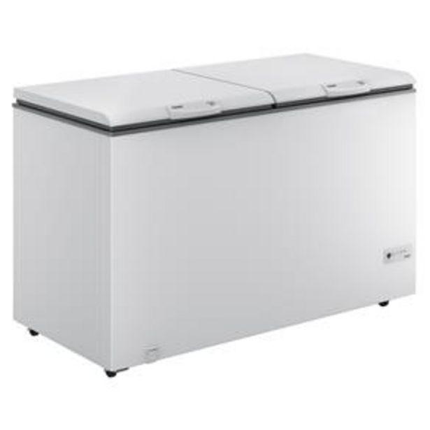 Oferta de Freezer Horizontal Consul CHB53EB 2 Portas Branco - 534L por R$2599