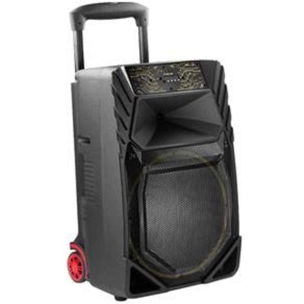 Oferta de Caixa Amplificada Frahm CF-1000 Bluetooth 500W Bivolt por R$984,89
